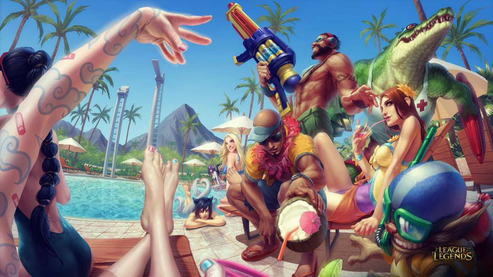 poolparty wallpaper