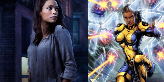 Rosario Dawson New Mutants Cecilia Reyes