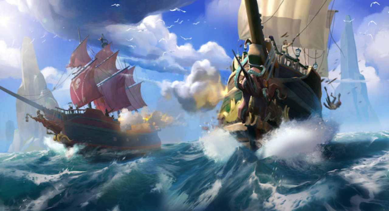 Xbox Boss Issues Sea of Thieves Challenge With Free Xbox