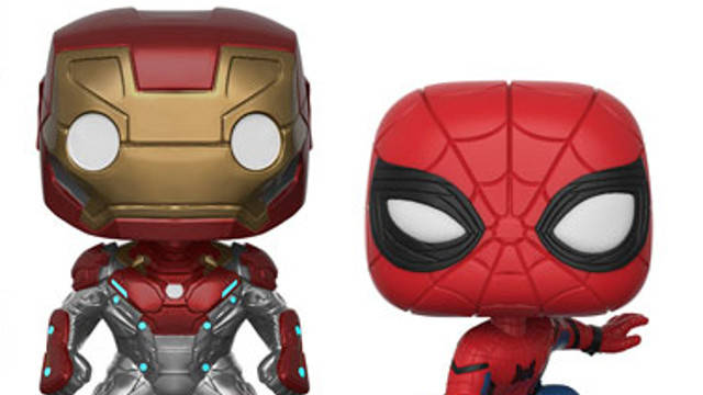 Spider-Man Homecoming Funko Pops