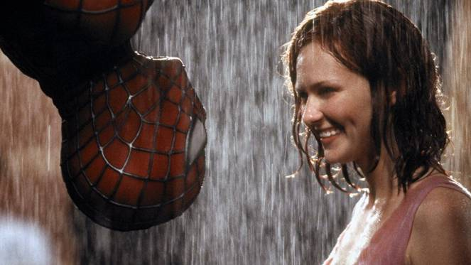 spider man kiss mary jane watson