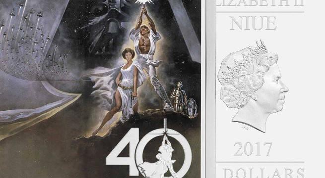 star wars 40th anniversary commemorative coin