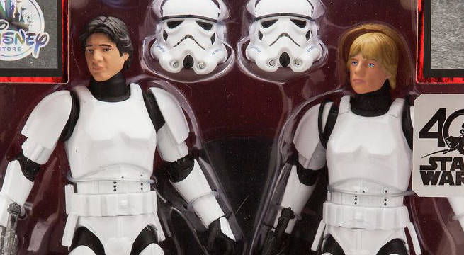 star wars 40th anniversary disney store collectibles