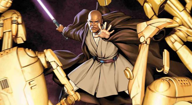 Star Wars Mace Windu Comic Book