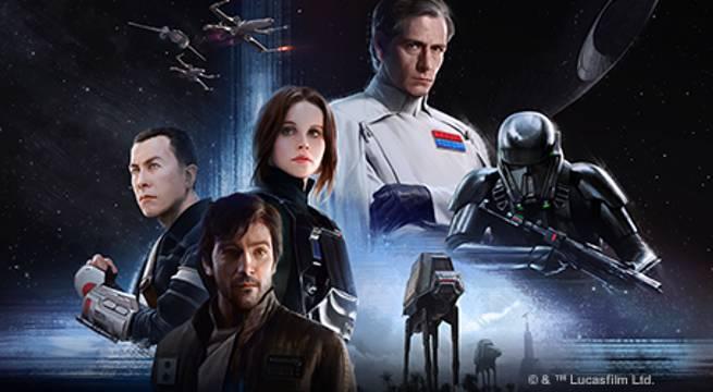 Star Wars Rebellion Rogue ONe
