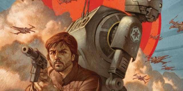 Star Wars Rogue One Prequel Cassian Andor K2SO 001 Cvr