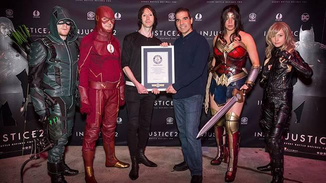 superman record