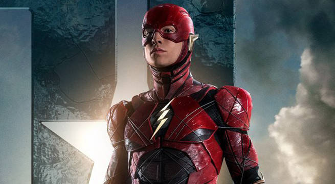 The Flash movie costume