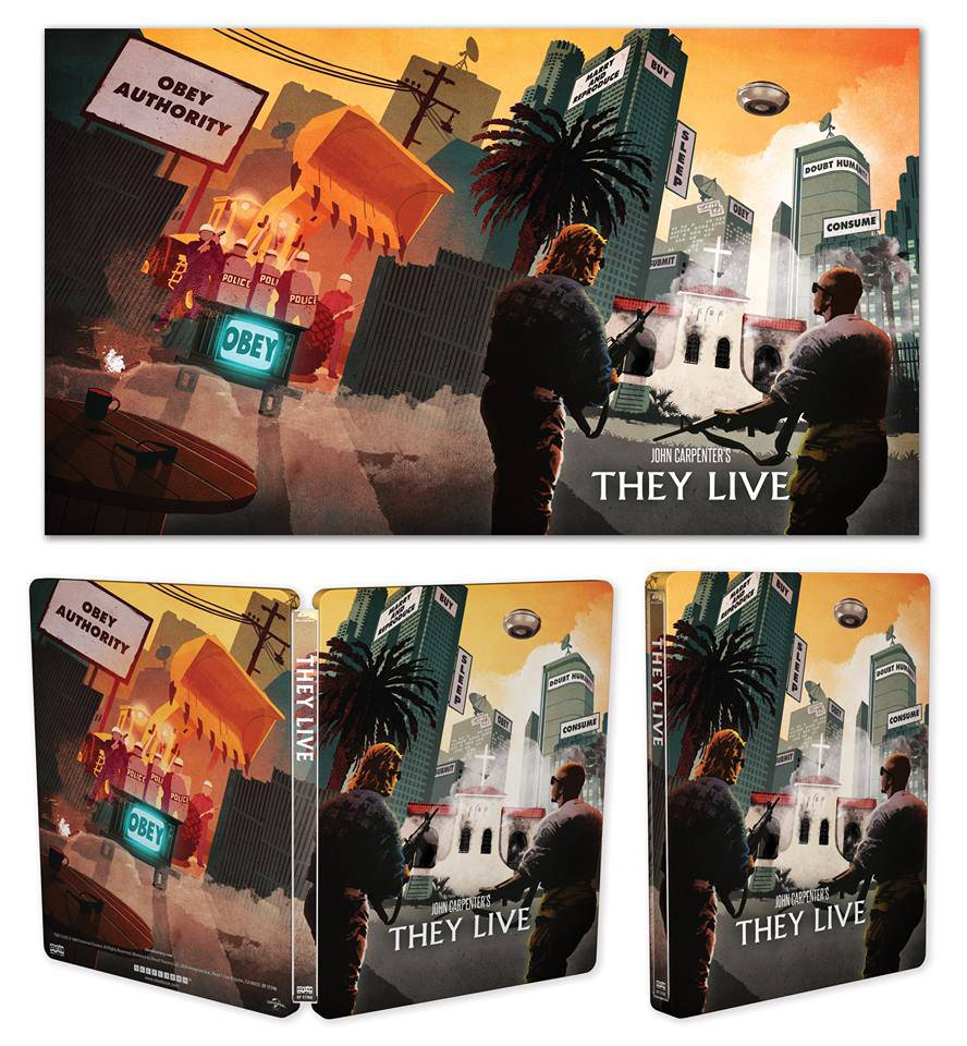 they live blu-ray steel book limited edition scream factory