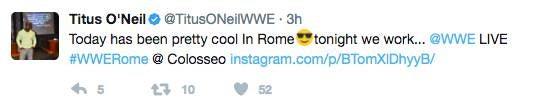 Titus ONeil twitter