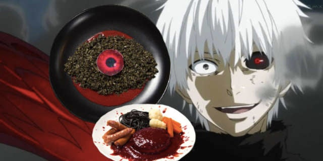 Jojo Movies >> Tokyo Ghoul Cafe Serves Up Bloody Treats