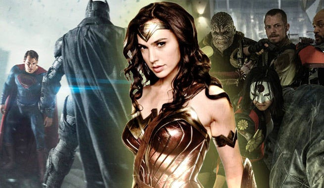 Wonder Woman BVS Suicide Squad