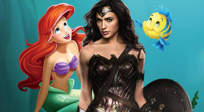 wonder woman little mermaid influences allan heinberg