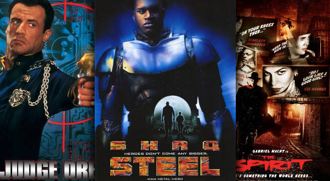 worst comic book adaptations film tv