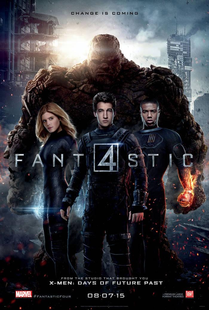worst comic book adaptations movie tv fantastic four