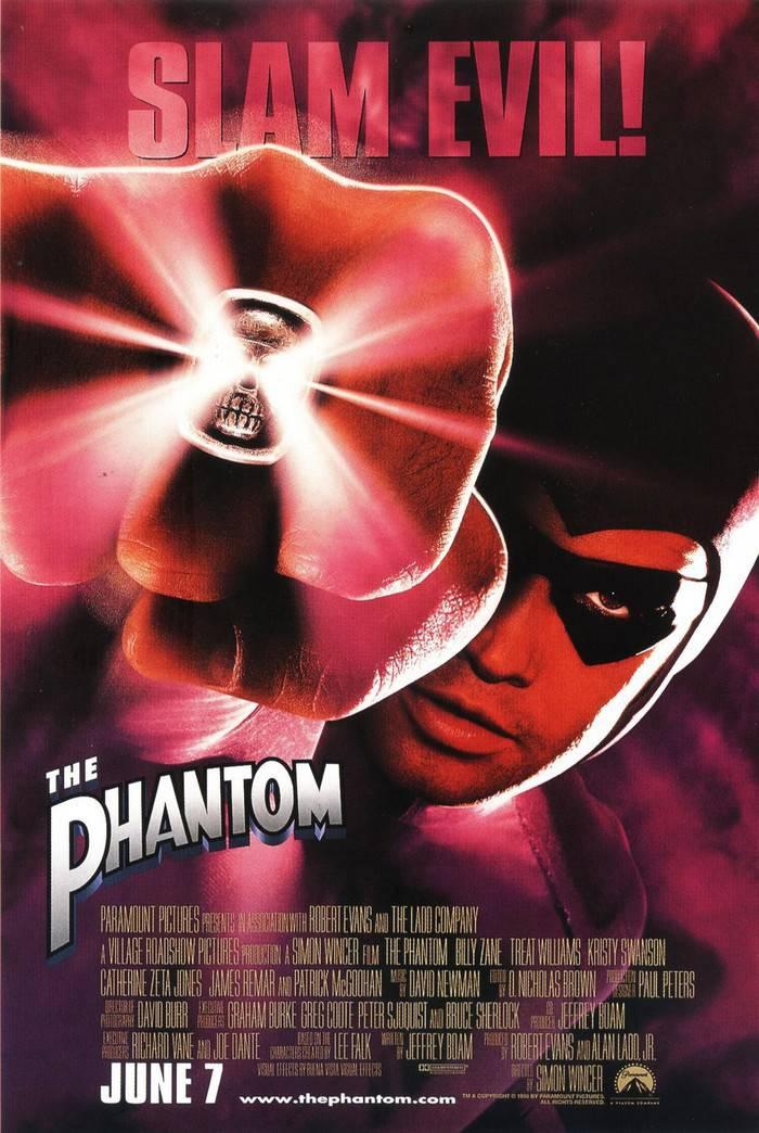 worst comic book adaptations movie tv the phantom