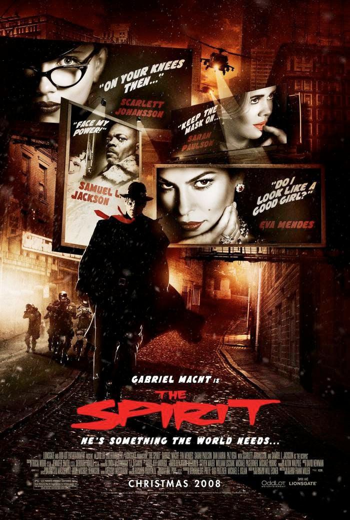 worst comic book adaptations movie tv the spirit