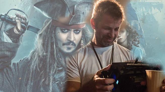 Zack Snyder Talks Pirates of the Caribbean 5 Hack