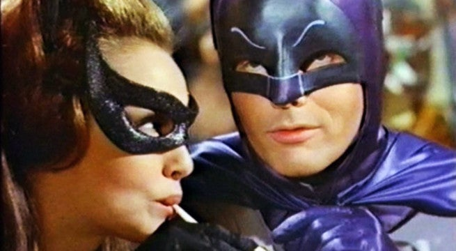 Adam West Julie Newmar Batman Catwoman