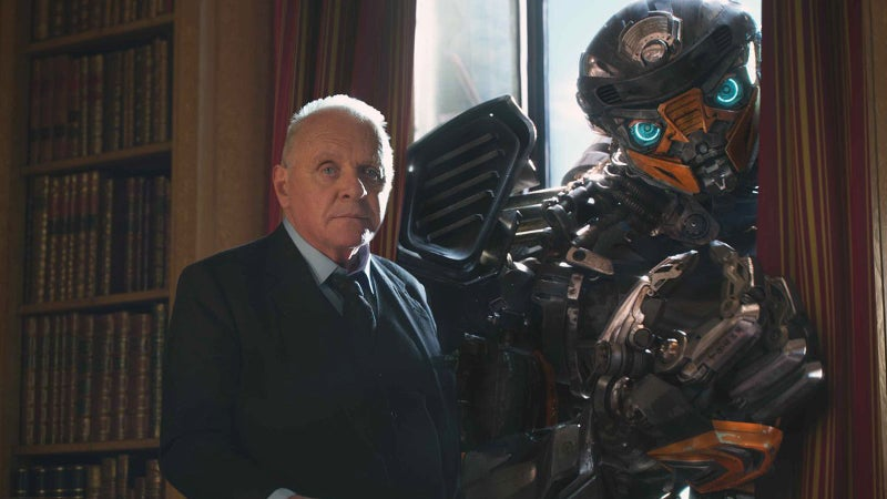 Anthony Hopkins in Transformers 5