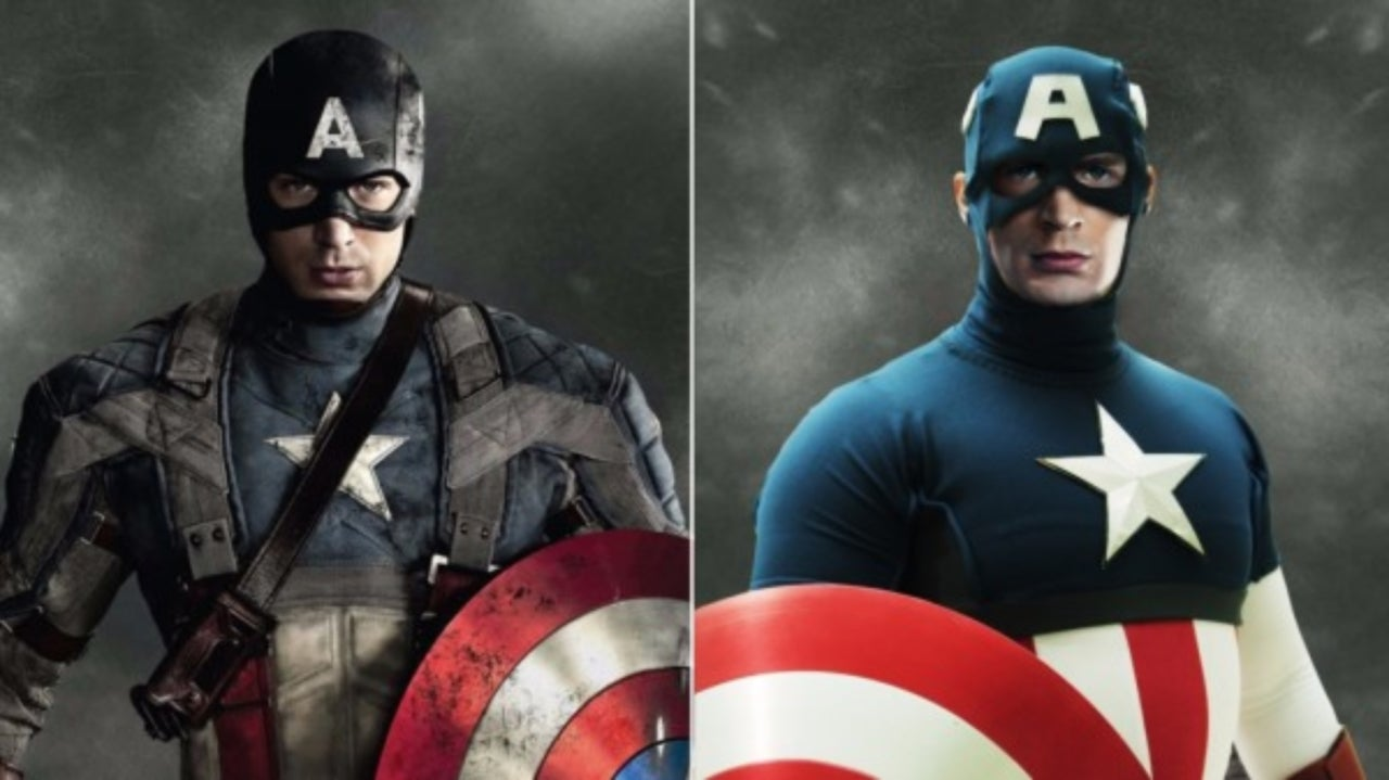 what the mcu avengers look like in marvel comics costumes