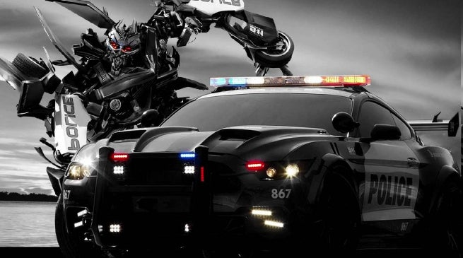 Barricade in Transformers 5
