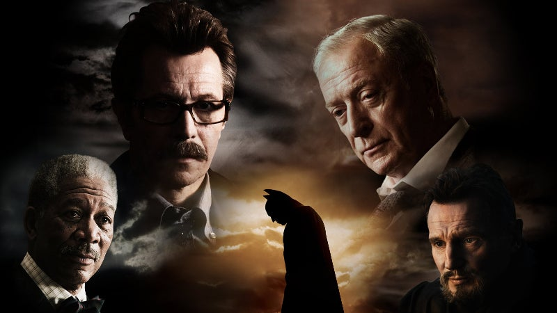 Batman Begins Cast