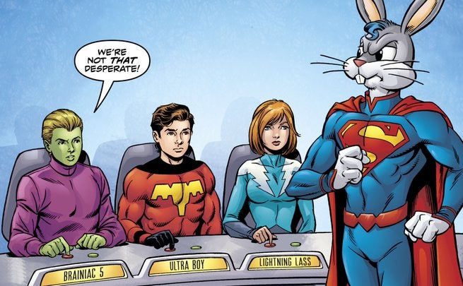 Legion of Super-Heroes Bugs Bunny