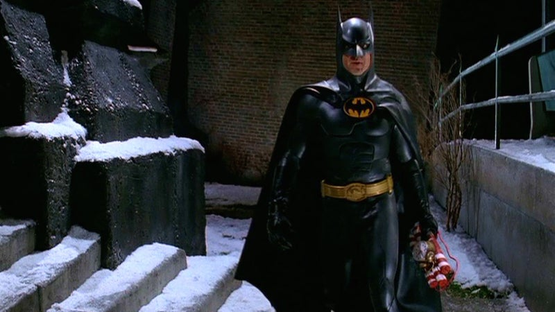 Batman Kills in Batman Returns