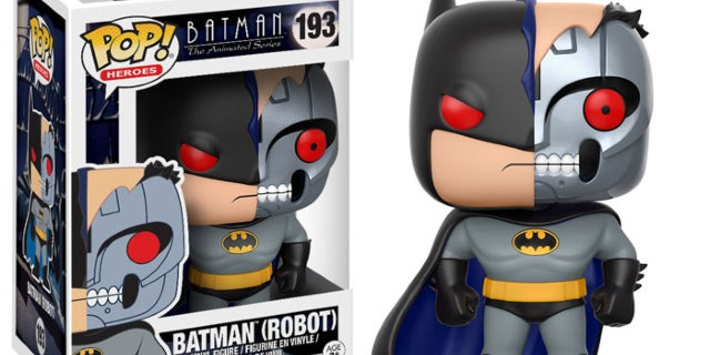 Batman Robot Funko Pop