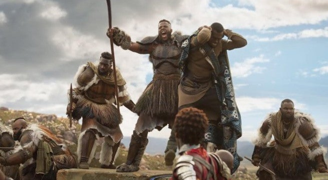 black panther trailer mbaku man ape winston dukes