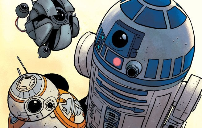 Chris Eliopoulous Star Wars - Artoo