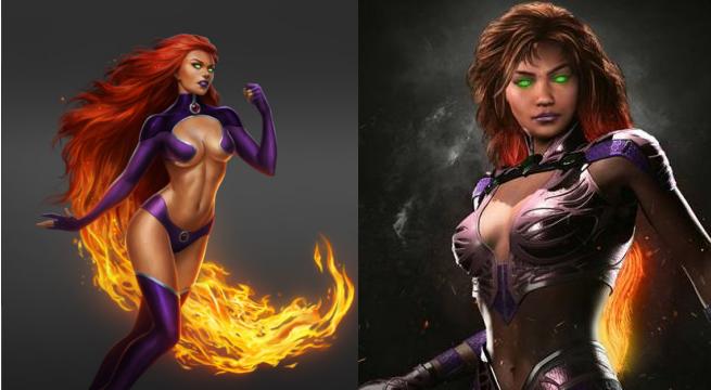 compare starfire