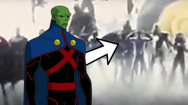 DC Movie Intro - Martian Manhunter