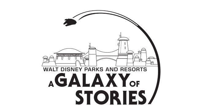 star wars disneyland disney world a galaxy of stories