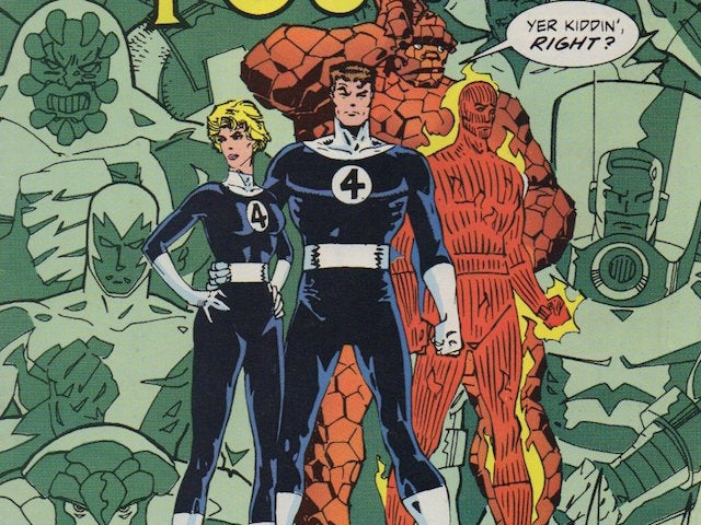 "fantastic-four-walter-simonson ""title ="" fantastic-four-walter-simonson ""height ="" 480 ""width ="" 640 ""data-item ="" 1003108 ""/> <figcaption> (Photo: Marvel) </figcaption></figure> <p> Marvel's First Family – the Fantastic Four – was Lee and Kirby's first real big push in <g class="