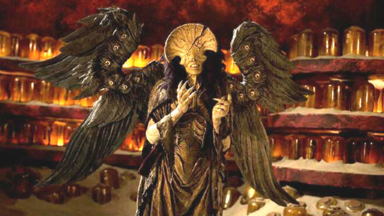 Angel Of Death 2017 hellboy 2's inspiration for the angel of death is beyond creepy