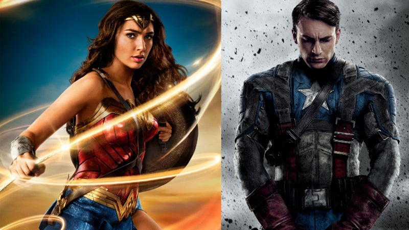 Is Wonder Woman Too Similar to Captain America First Avenger