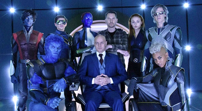 james mcavoy posts x-men dark phoenix cast photo with canada pm justin trudeau