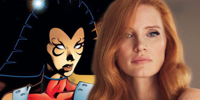 jessica chastain cast in x-men dark phoenix