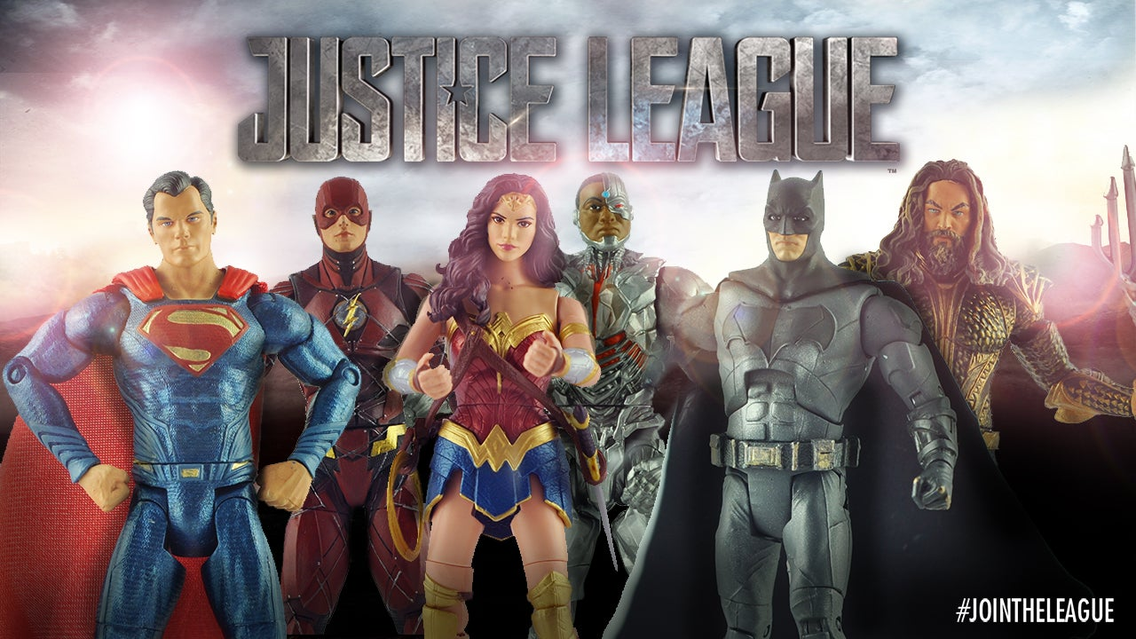 First Look At Justice League Movie Figures