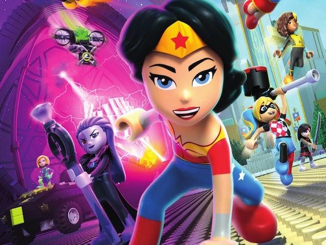 LEGO DC Super Hero Girls Brain Drain DVD1