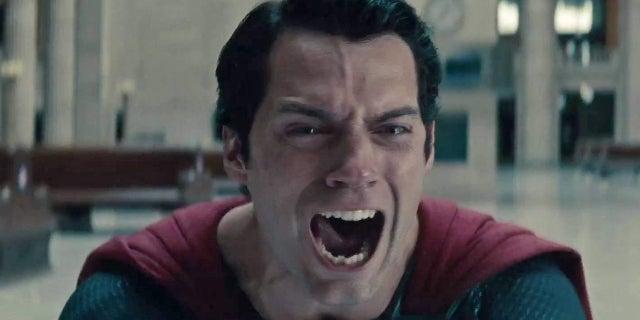 Man of Steel Superman Kills Zod Scream