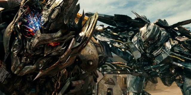 Megatron and Starscream Transfomrers Movies