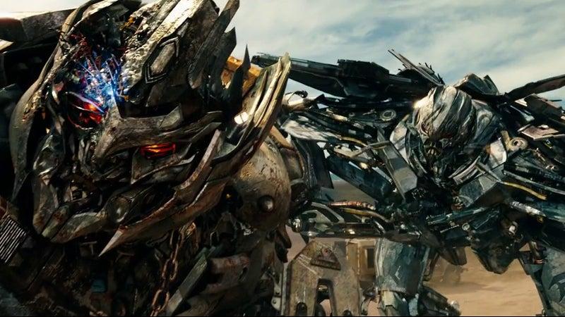 Megatron and Starscream Transfomrers Movies