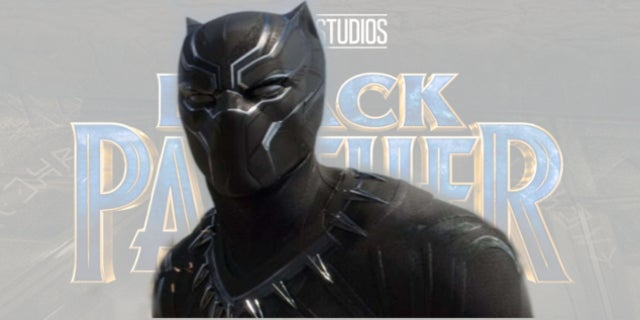 Marvels Black Panther Movie Unveils New Logo