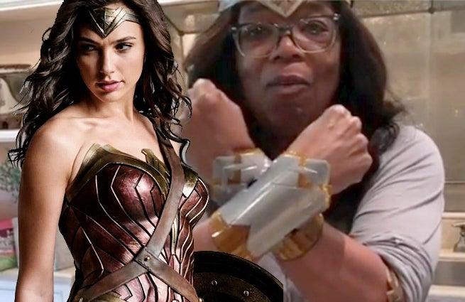 Oprah Wonder Woman Party