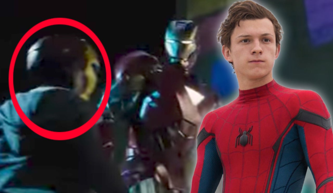 spider man s peter parker confirmed to have appeared in iron man 2