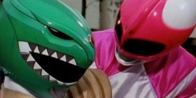Power-Rangers-Green-Ranger-Pink-Ranger
