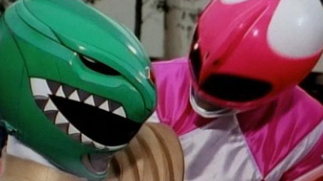 Power-Rangers-Green-Ranger-Pink-Ranger